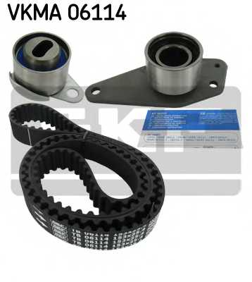 Комплект ремня ГРМ SKF VKMA 06114 - изображение