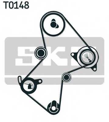 Комплект ремня ГРМ SKF VKMA 06115 - изображение 1