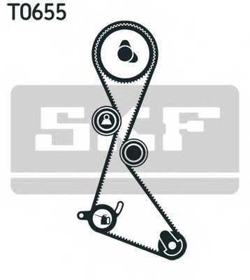 Комплект ремня ГРМ SKF VKMA 06123 - изображение 1