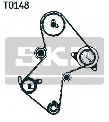 Комплект ремня ГРМ SKF VKMA06125 - изображение