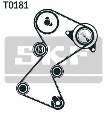 Комплект ремня ГРМ SKF VKMA 06128 - изображение
