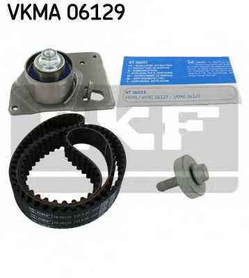 Комплект ремня ГРМ SKF VKMA 06129 - изображение