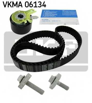 Комплект ремня ГРМ SKF VKMA 06134 - изображение
