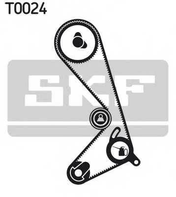 Комплект ремня ГРМ SKF VKMA 06204 - изображение 1