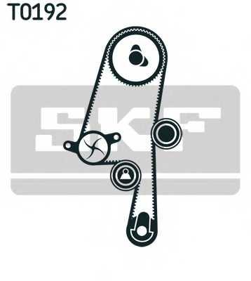 Комплект ремня ГРМ SKF VKMA 06220 - изображение