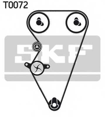 Комплект ремня ГРМ SKF VKMA 07301 - изображение