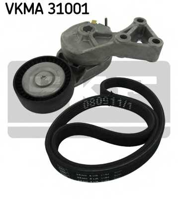 Поликлиновой ременный комплект SKF VKMA 31001 - изображение