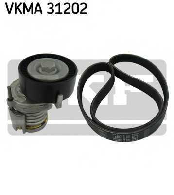 Поликлиновой ременный комплект SKF VKMA 31202 - изображение