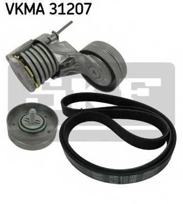 Поликлиновой ременный комплект SKF VKMA 31207 - изображение