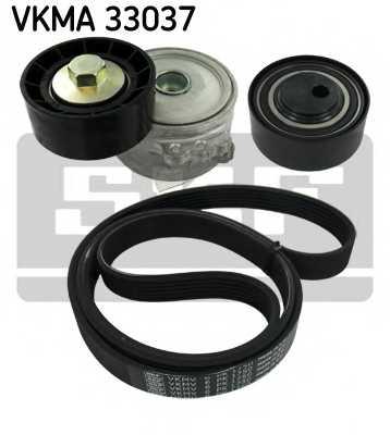 Поликлиновой ременный комплект SKF VKMA 33037 - изображение