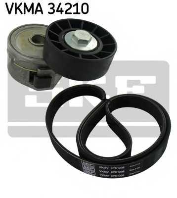 Поликлиновой ременный комплект SKF VKMA 34210 - изображение