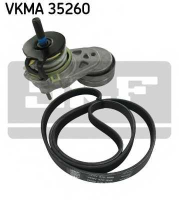 Поликлиновой ременный комплект SKF VKMA 35260 - изображение