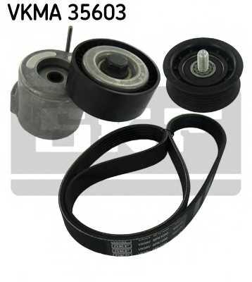 Поликлиновой ременный комплект SKF VKMA 35603 - изображение