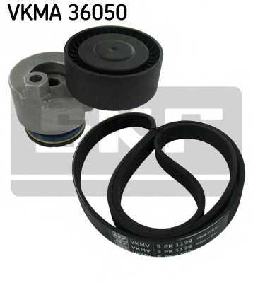 Поликлиновой ременный комплект SKF VKMA 36050 - изображение
