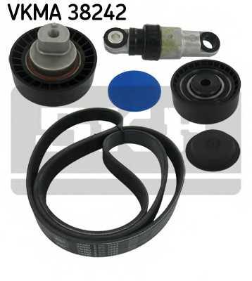 Поликлиновой ременный комплект SKF VKMA 38242 - изображение