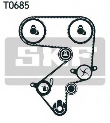 Комплект ремня ГРМ SKF VKMA 91013 - изображение