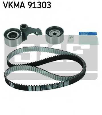 Комплект ремня ГРМ SKF VKMA 91303 - изображение