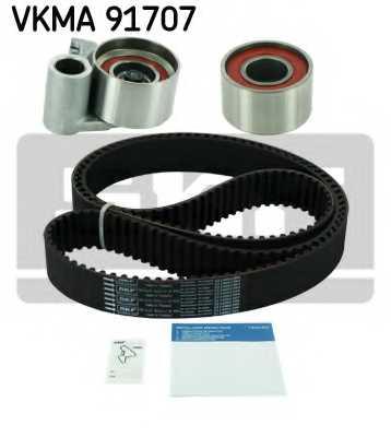Комплект ремня ГРМ SKF VKMA 91707 - изображение