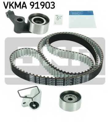 Комплект ремня ГРМ SKF VKMA 91903 - изображение