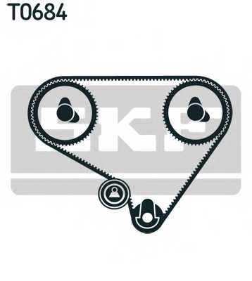 Комплект ремня ГРМ SKF VKMA 92004 - изображение 1