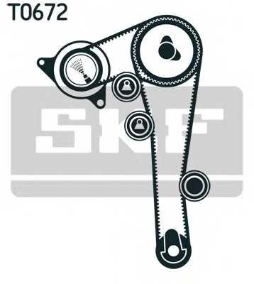 Комплект ремня ГРМ SKF VKMA 92516 - изображение