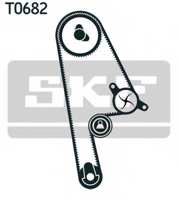 Комплект ремня ГРМ SKF VKMA 93001 - изображение
