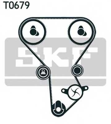 Комплект ремня ГРМ SKF VKMA 94601 - изображение 1