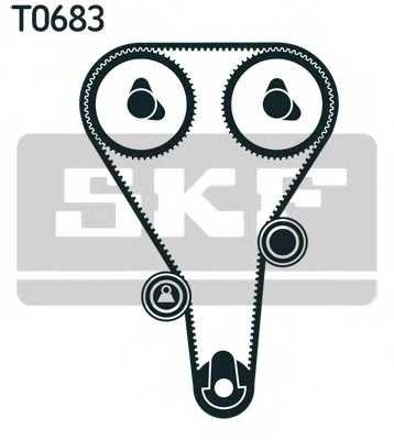 Комплект ремня ГРМ SKF VKMA 94610 - изображение 1