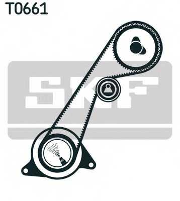 Комплект ремня ГРМ SKF VKMA 94616 - изображение 1