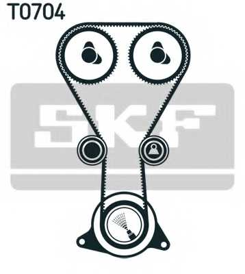 Комплект ремня ГРМ SKF VKMA 94626 - изображение