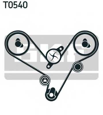 Комплект ремня ГРМ SKF VKMA95613 - изображение 1