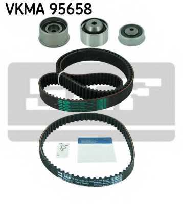 Комплект ремня ГРМ SKF VKMA 95658 - изображение