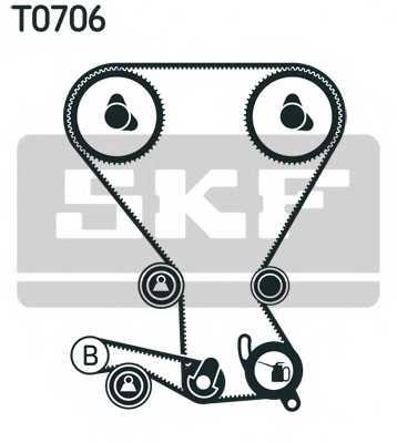 Комплект ремня ГРМ SKF VKMA 95666 - изображение 1