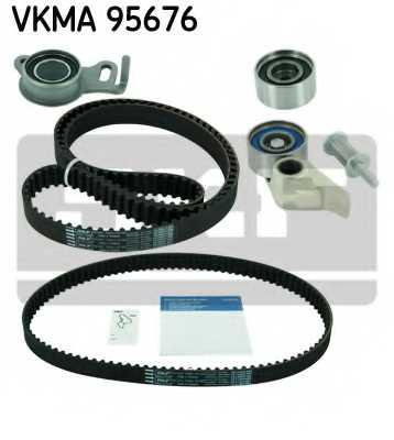 Комплект ремня ГРМ SKF VKMA 95676 - изображение