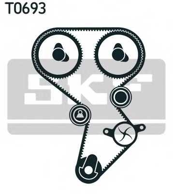 Комплект ремня ГРМ SKF VKMA 95924-1 - изображение 1
