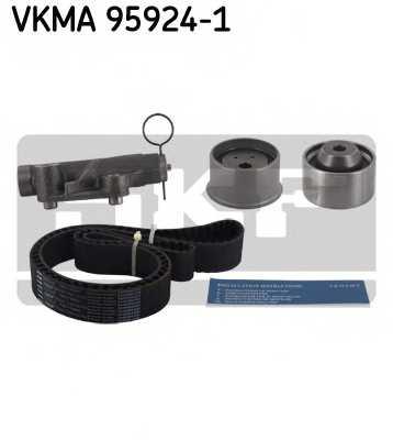 Комплект ремня ГРМ SKF VKMA 95924-1 - изображение