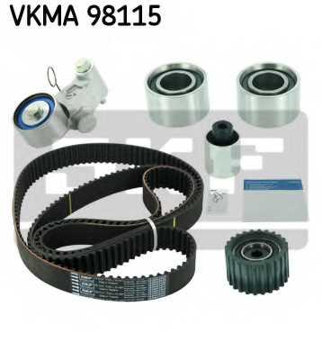 Комплект ремня ГРМ SKF VKMA 98115 - изображение