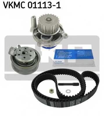Водяной насос + комплект зубчатого ремня SKF VKMC 01113-1 - изображение 1