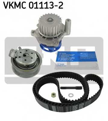 Водяной насос + комплект зубчатого ремня SKF VKMC01113-2 - изображение