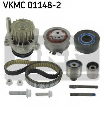 Водяной насос + комплект зубчатого ремня SKF VKMC 01148-2 - изображение