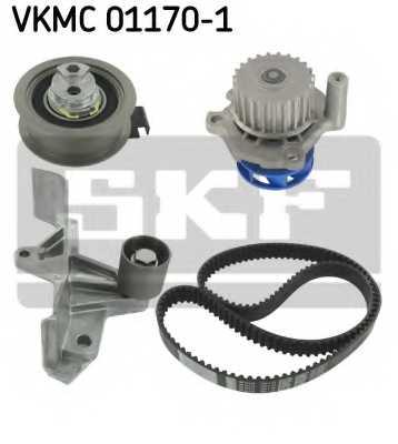 Водяной насос + комплект зубчатого ремня SKF VKMC 01170-1 - изображение 1