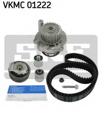 Водяной насос + комплект зубчатого ремня SKF VKMC 01222 - изображение