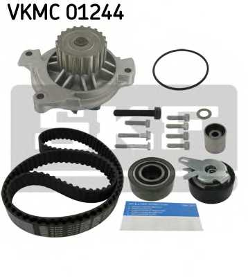 Водяной насос + комплект зубчатого ремня SKF VKMC 01244 - изображение