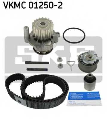 Водяной насос + комплект зубчатого ремня SKF VKMC 01250-2 - изображение