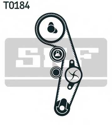 Водяной насос + комплект зубчатого ремня SKF VKMC 01250-3 - изображение 1
