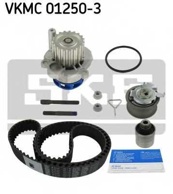 Водяной насос + комплект зубчатого ремня SKF VKMC 01250-3 - изображение