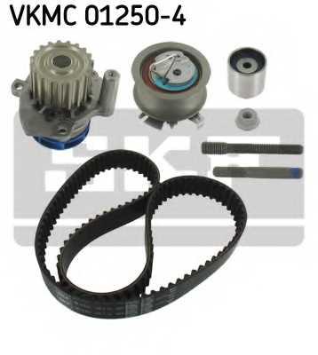Водяной насос + комплект зубчатого ремня SKF VKMC 01250-4 - изображение 1