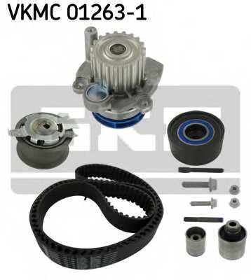 Водяной насос + комплект зубчатого ремня SKF VKMC 01263-1 - изображение 1