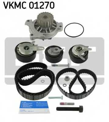 Водяной насос + комплект зубчатого ремня SKF VKMC 01270 - изображение