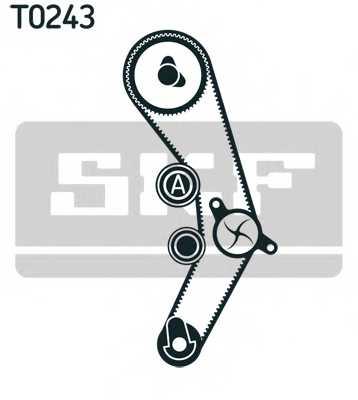 Водяной насос + комплект зубчатого ремня SKF VKMC 01935 - изображение